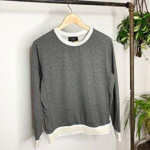 COA x Anthropologie Gray Pullover Sweater